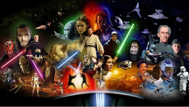 Yıldız Savaşları'nda, Yıldız Kruvazörü Diplomatik görevle yolalan Korvet'i kıstıracaktır. Bu küçük gemide Senato üyesi olan ancak asilerle işbirliği içinde de bulunan, Eski Cumhuriyet'in savunucularından Prenses Leia da bulunmaktadır. İmparatorluk gemisinde ise hem Leia'yı hem de asi casusların kaçırmış olduğu 'Ölüm Yıldızı'nın planlarını geri isteyen kötü Lord Vader yeralmaktadır. Sevimli droid R2-D2 ve ortağı C3-PO ise Tatooine gezegeninde, tesadüfler eseri Luke Skywalker isimli genç pilot adayına satılırlar. Droidlerin amacı yüklü olan mesajı Obi Wan Kenobi isimli yaşlı bir keşişe iletmektir. Macera hız kesmeden devam edecek, bilahare Lucas kuşaklar boyunca sinemaseverlerin gönlünde taht kuracaktır.