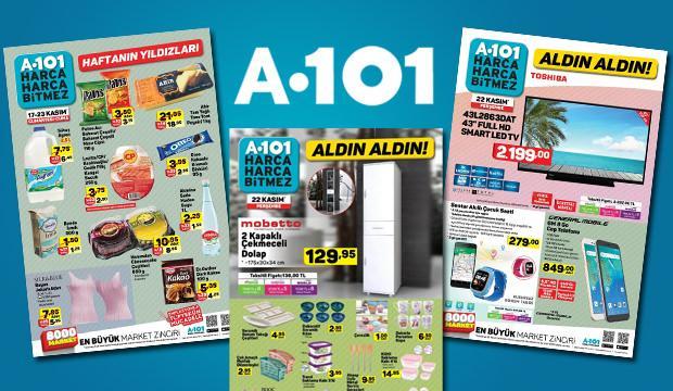A101 hafta sonu kampanyası aktüel ürünleri! Televizyon, cep telefonu...