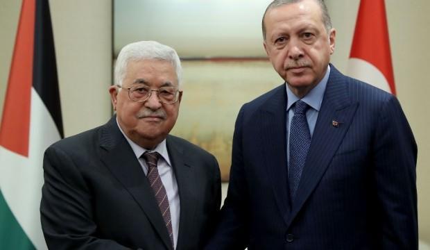 Başkan Erdoğan'dan Abbas'a destek telefonu