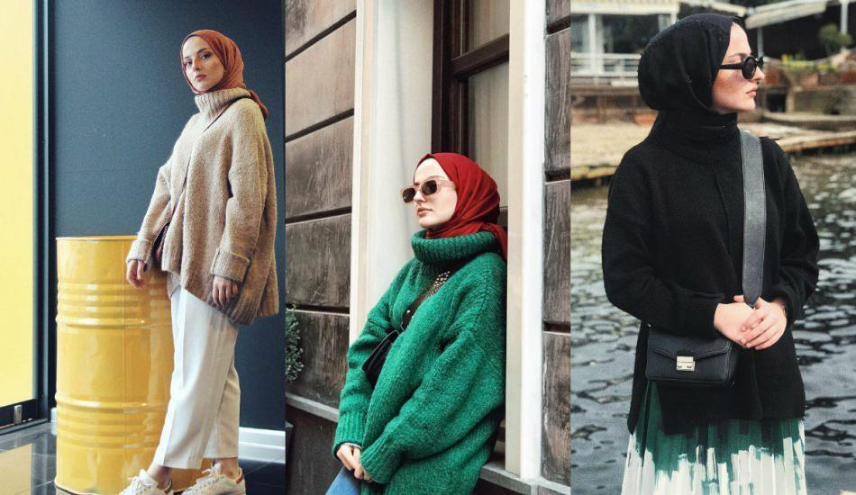 Boğazlı kazak modelleri ve kombin önerileri