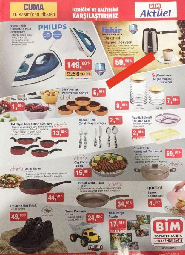 BiM November 16 Current products