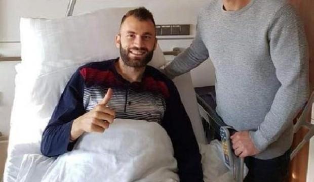 Mustafa Yumlu ameliyat oldu, sezonu kapattı