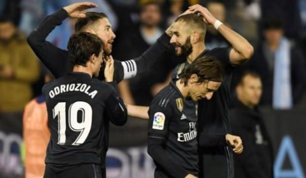 Real Madrid 4 golle kazandı