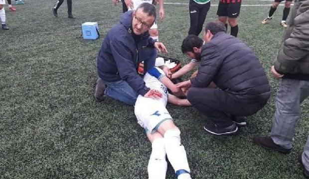 Futbolcu ölümden döndü Başkan gözyaşlarına boğuldu