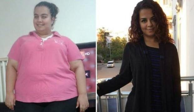 Büyük değişim! 15 ayda 95 kilo verdi