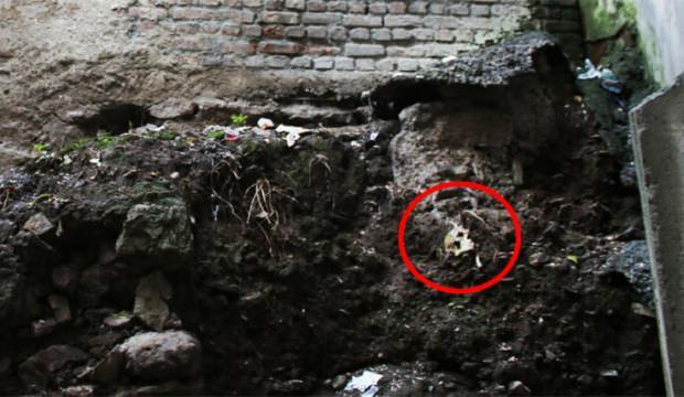 Kocaeli'de tarihi mezar bulundu