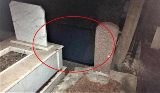 Pes dedirten olay! Mezarlıkta buldular