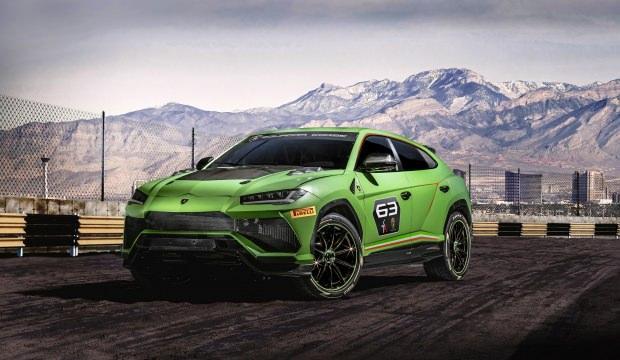 Yarışlara katılacak ilk SUV: Lamborghini ST-X