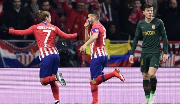 Atletico Madrid evinde hata yapmadı!