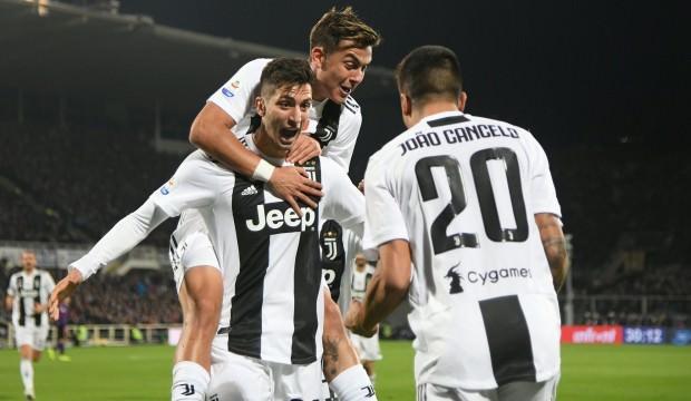 Juventus deplasmanda farklı kazandı