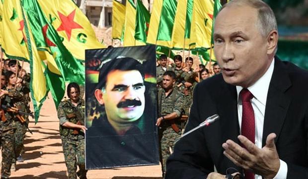 Rusya'dan YPG açıklama!