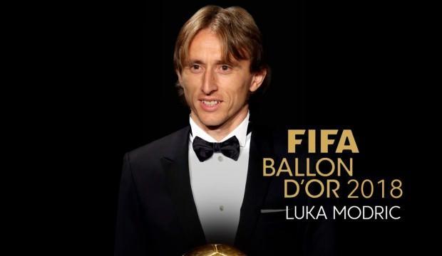 2018 Ballon d'Or'un sahibi belli oldu