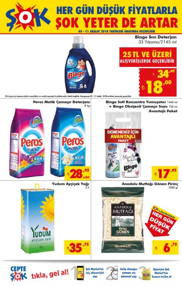 ŞOK / 11 Aralık Aktüel Ürünler Katalog