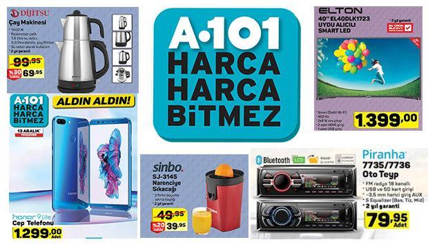 A101 14-19 Aralık indirimli aktüel ürünler kataloğu!