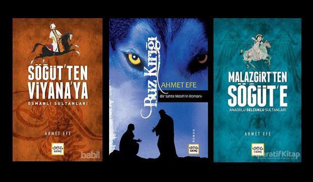 Ahmet Efe Nar'ın eserleri okurlarını bekliyor