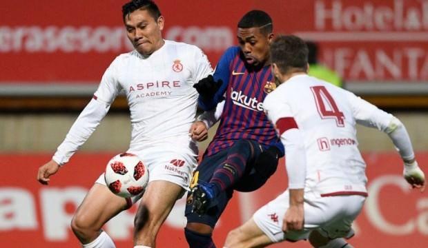 Barcelona yedekleriyle 4 attı, son 16'ya kaldı