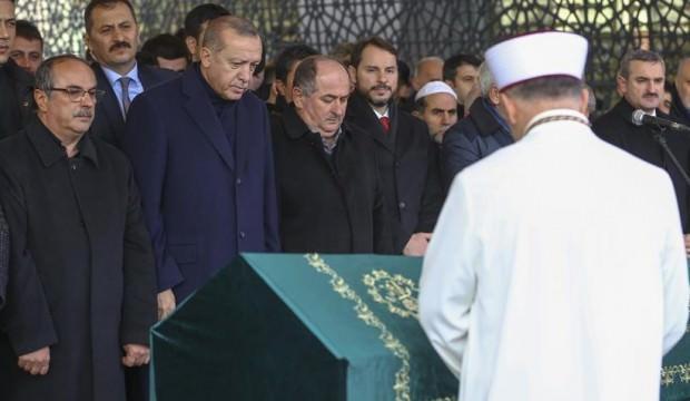 Başkan Erdoğan'dan aile dostuna son görev