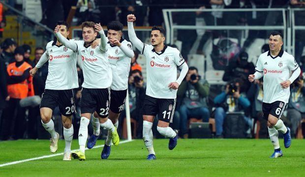 Beşiktaş'ın kadrosu açıklandı! 5 eksik...