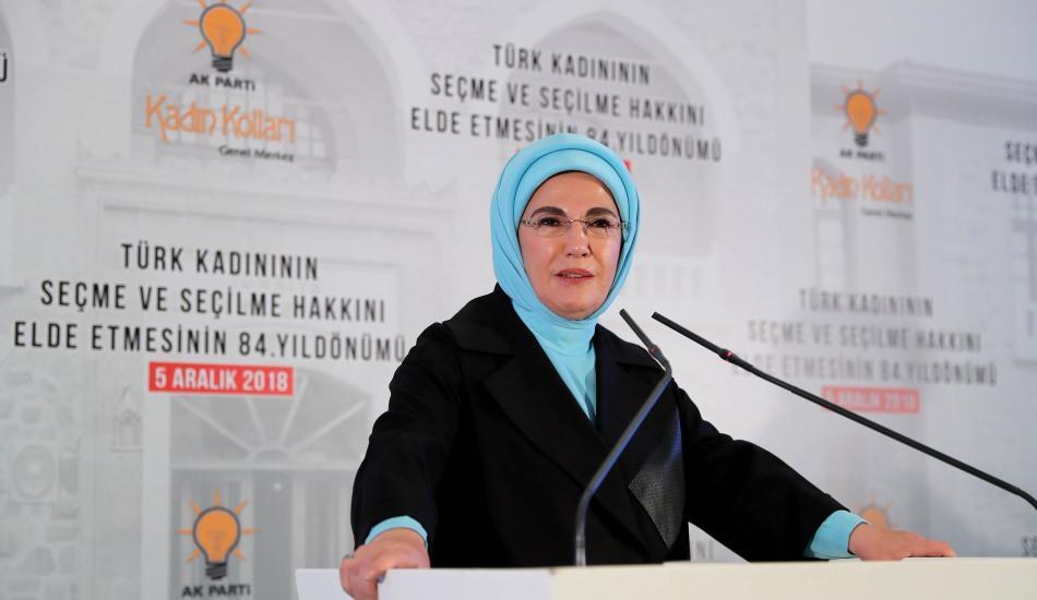 Emine Erdoğan Kadın Hakları Günü etkinliğine katıldı
