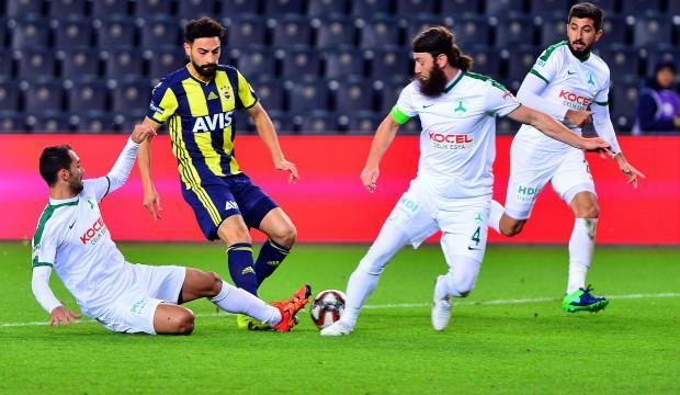 Fenerbahçe ilk cezasını çekti