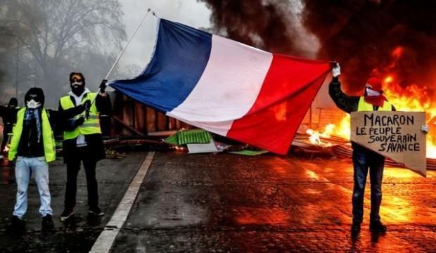 Fransa yanıyor! Onlar da sokağa inme kararı aldı