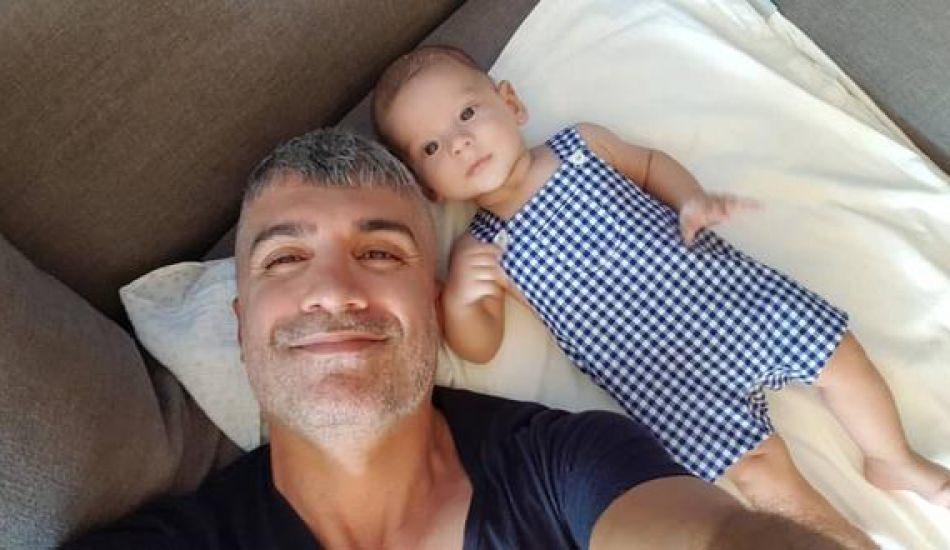 Özcan Deniz'in oğlu 9 aylık oldu