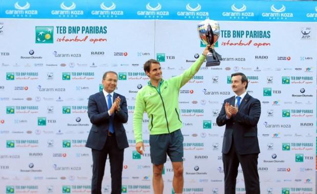 Roger Federer, 2015 İstanbul Open'da şampiyon olmuştu.