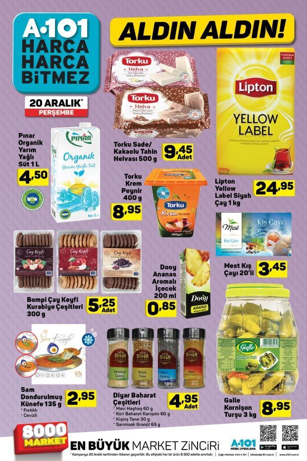 A101 Gıda Ürünleri