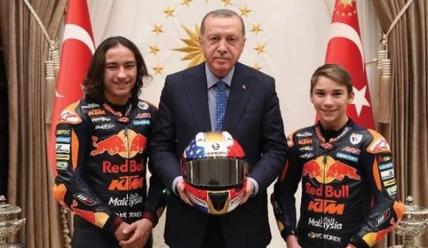 Cumhurbaşkanı Erdoğan, Can Öncü'yü kabul etti