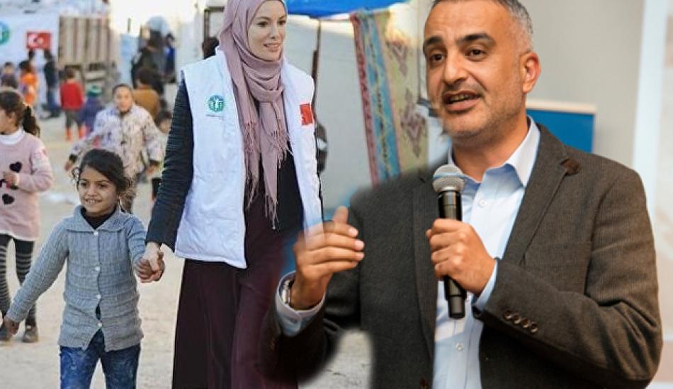Bekir Develi'den Gamze Özçelik'e destek!