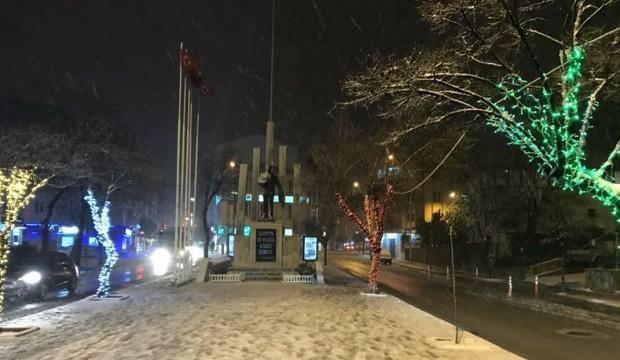 Keşan'da okullar kar nedeniyle bugün tatil
