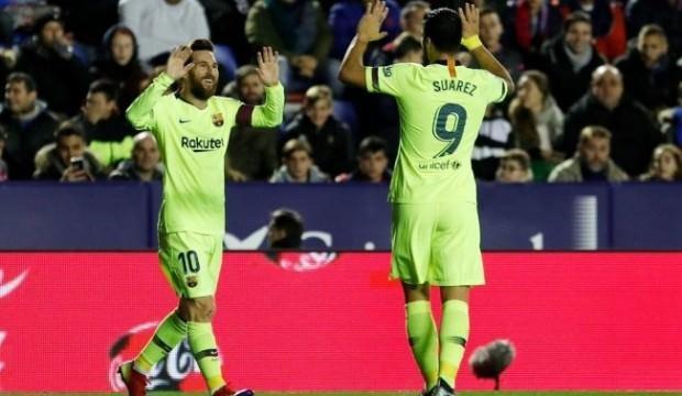 Messi coştu, Barcelona 5'ledi!