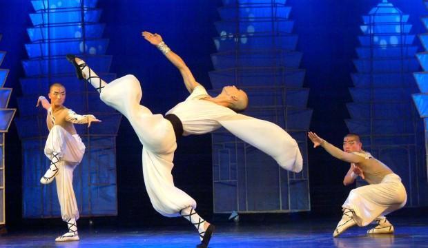 Mistik bir savaşma sanatı Kung-Fu CRR Sahnesi'nde