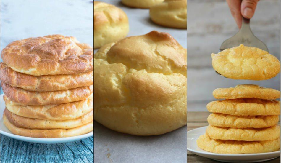 Pratik bulut ekmeği nasıl yapılır?