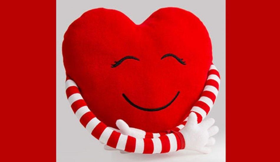 Pratik yolla kalpli yastık nasıl yapılır 72