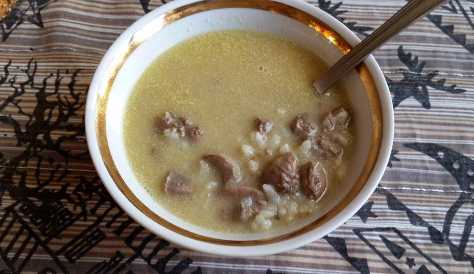 Terbiyeli ciğer çorbası nasıl yapılır?