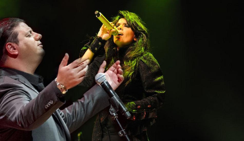 Ünlü şarkıcı Yasmin Levy Kubat'la buluştu!