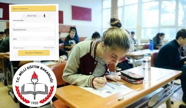AÖL Sınav Sonuç Ekranı
