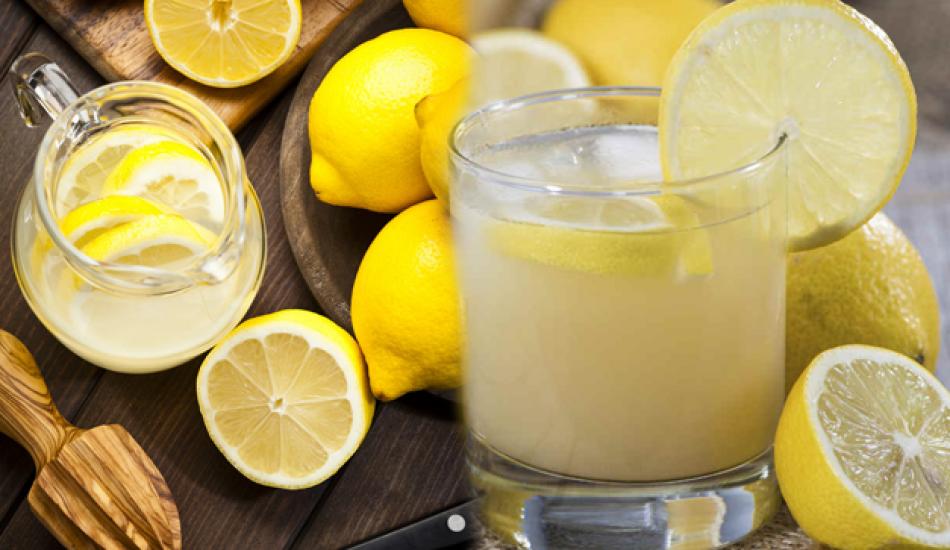Düzenli olarak limonlu su içersek ne olur?