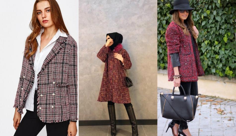 Kış sezonun en trend Tüvit ceket modelleri ve fiyatları