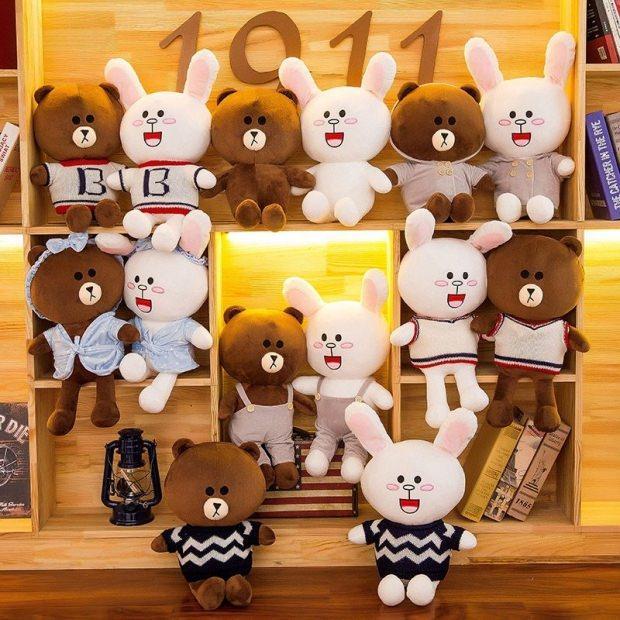 kitaplık peluş oyuncak