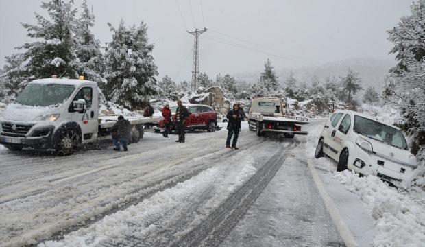 Akseki-Seydişehir kara yolu trafiğe açıldı