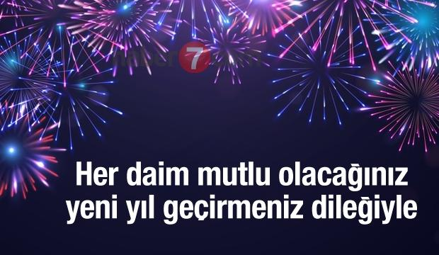 Her daim mutlu olacağınız yeni yıl geçirmeniz dileğiyle.