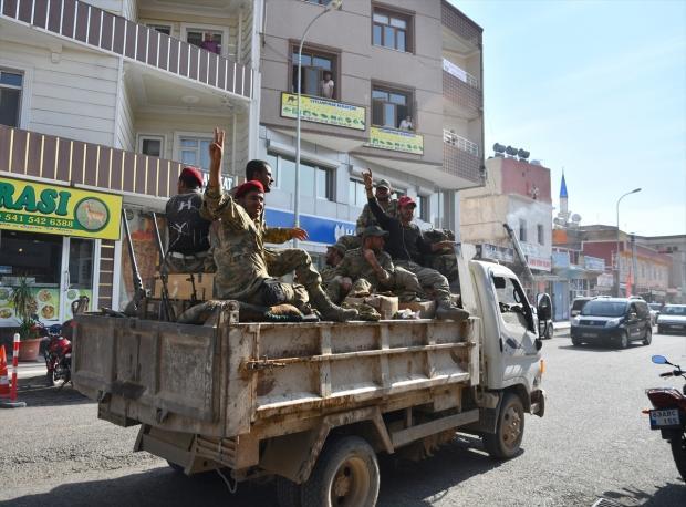 Barış Pınarı Harekatı'na katılan SMO askerleri...