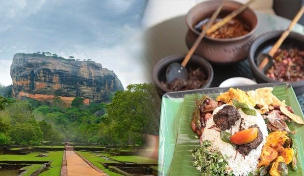 Sri Lanka'nın meşhur yemekleri: Pişmiş muz, mango ve diğer sebzeler...
