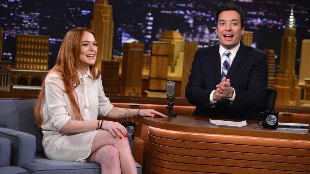 Jimmy Fallon Lindsay Lohan