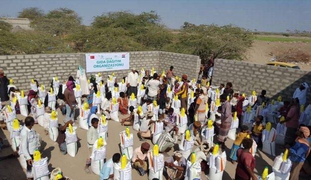 İİD'den Yemen'e gıda yardımı