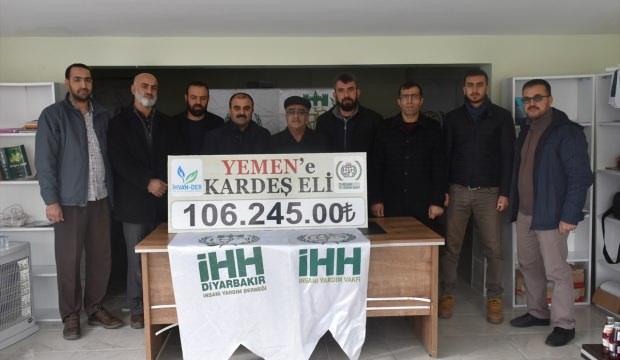 Diyarbakır'dan Yemen'e destek