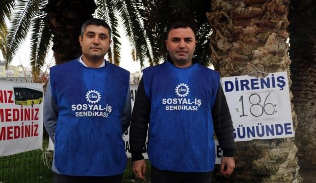 Aydın'da işten çıkarılan otobüs şoförlerinin davası