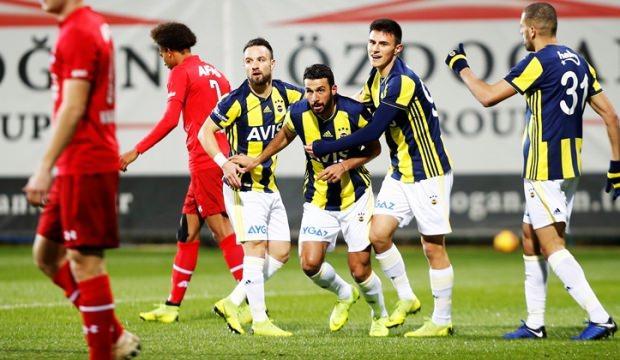 Fenerbahçe'den 3 gollü prova!